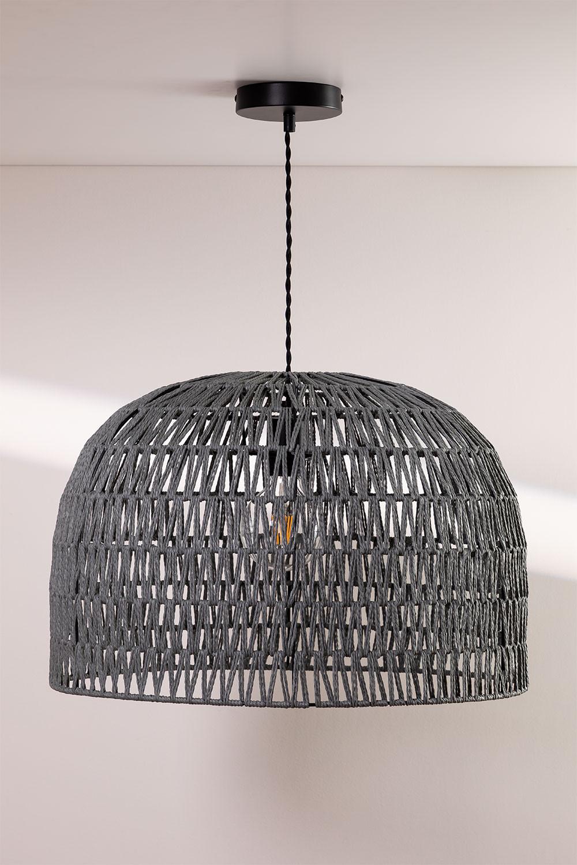 Mylo gedraaide papieren plafondlamp, galerij beeld 1