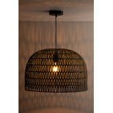 Mylo gedraaide papieren plafondlamp, miniatuur afbeelding 2
