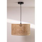 Plafondlamp in rotan Serri, miniatuur afbeelding 2