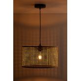 Plafondlamp in rotan Serri, miniatuur afbeelding 3