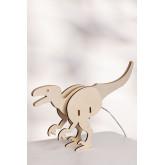 Dino Kids tafellamp, miniatuur afbeelding 1