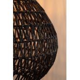 Nok plafondlamp van gevlochten papier, miniatuur afbeelding 5