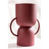Vaas in metaal Rob, miniatuur afbeelding 2