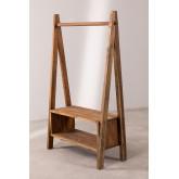 Arcieh gerecycled houten kapstok, miniatuur afbeelding 2