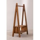 Arcieh gerecycled houten kapstok, miniatuur afbeelding 3