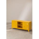 Tv-meubel met metalen plank Pohpli, miniatuur afbeelding 1