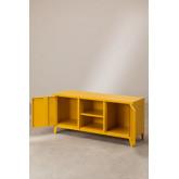 Tv-meubel met metalen plank Pohpli, miniatuur afbeelding 2
