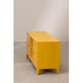 Tv-meubel met metalen plank Pohpli, miniatuur afbeelding 3
