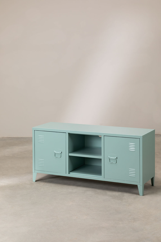 Tv-meubel met metalen plank Pohpli, galerij beeld 1
