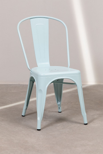 Set 4 Lix stoelen Mat [buiten]
