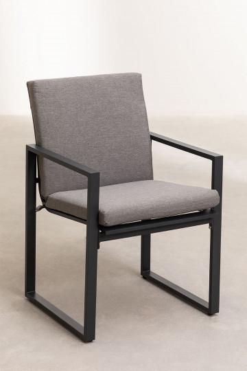 Pak 4 stoelen met armleuningen voor buiten Fhati in