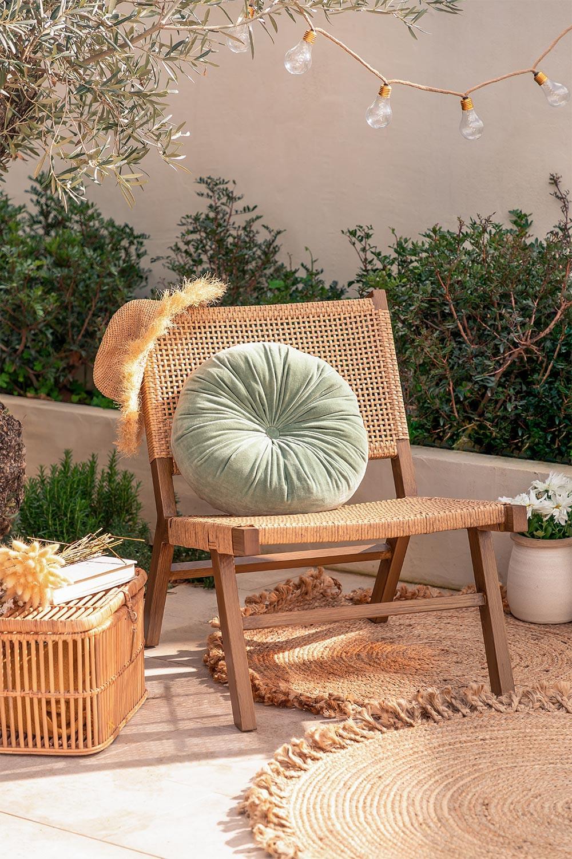 Kunststof Rieten Tuinstoel Miri, galerij beeld 1