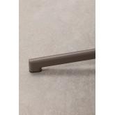 Opklapbare en converteerbare bartafel in 2 hoogtes in staal (60x60 cm) Dely , miniatuur afbeelding 6