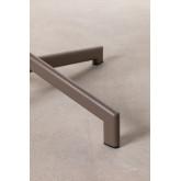 Opklapbare en converteerbare bartafel in 2 hoogtes in staal (Ø59,5 cm) Dely , miniatuur afbeelding 4