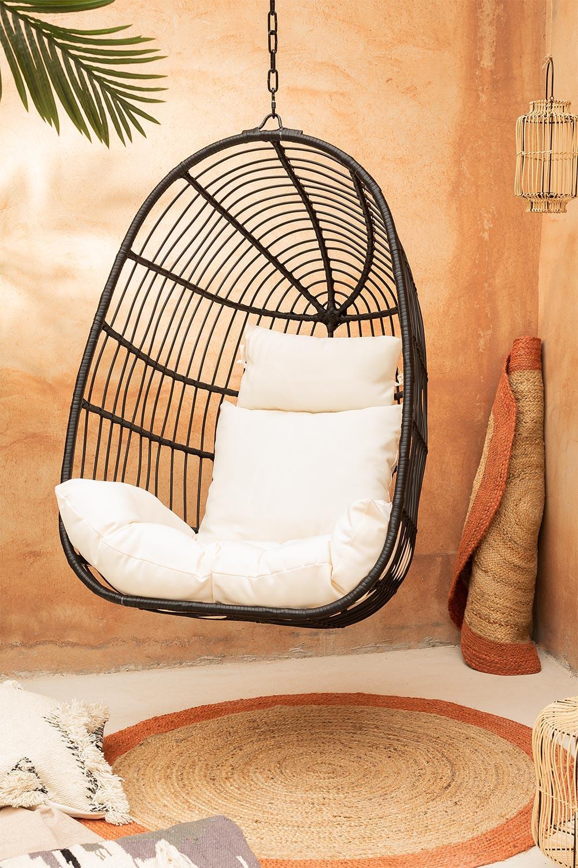 Hangmat in rieten Zosky, galerij beeld 1