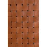 Zaid houten en leren hoofdeinde voor bed van 150 cm, miniatuur afbeelding 6