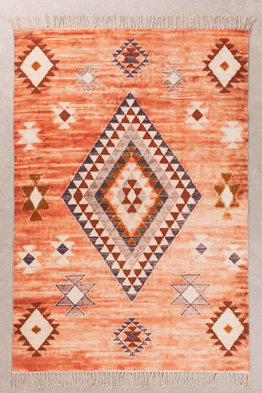 Katoenen vloerkleed (195x175 cm) Kinari, galerij beeld 1