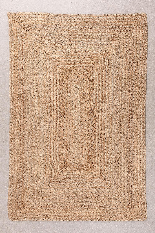 Gevlochten Tapijt Tempo van Natuurlijke Yute, galerij beeld 1