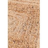 Gevlochten Tapijt Tempo van Natuurlijke Yute, miniatuur afbeelding 3