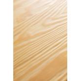 LIX houten tafel geborsteld staal (80x80), miniatuur afbeelding 6
