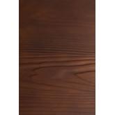 LIX houten tafel geborsteld staal (80x80), miniatuur afbeelding 5
