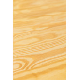 LIX Vintage houten tafel (80x80), miniatuur afbeelding 6