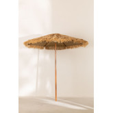Stalen parasol (Ø200 cm) Rhos, miniatuur afbeelding 2