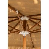 Stalen parasol (Ø200 cm) Rhos, miniatuur afbeelding 4