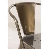 LIX stoel geborsteld staal met armleuningen , miniatuur afbeelding 5