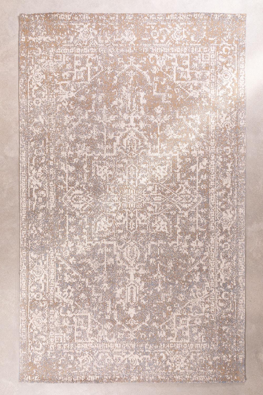 Tapijt van chenille van katoen (300x180 cm) Busra, galerij beeld 1