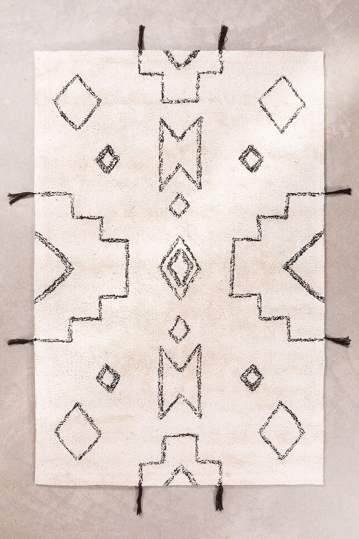 Katoenen vloerkleed (180x120 cm) Reddo, galerij beeld 1