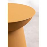 Ronde metalen bijzettafel (Ø37 cm) Bayi, miniatuur afbeelding 4