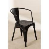 LIX Vintage stoel met armleuningen, miniatuur afbeelding 2