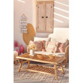 Tuin salontafel in teakhout van Narel, miniatuur afbeelding 1