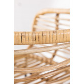 Hoge kruk van Hasse rotan, miniatuur afbeelding 4