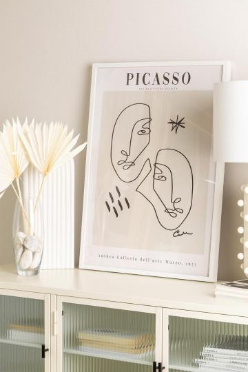 Decoratieve print (50x70 cm) Vrouw