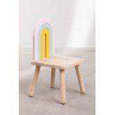 Mini Rainbow Kids houten stoel, miniatuur afbeelding 3
