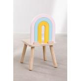 Mini Rainbow Kids houten stoel, miniatuur afbeelding 4