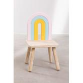 Mini Rainbow Kids houten stoel, miniatuur afbeelding 5
