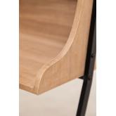 Bureau met planken in MDF en metalen Valar, miniatuur afbeelding 6