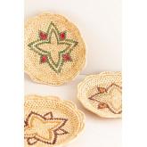Set van 3 Siona decoratieve borden, miniatuur afbeelding 3