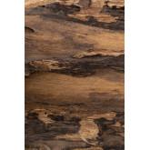 Trunc wandkapstok van gerecycled hout, miniatuur afbeelding 979328