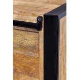 Kiefer houten kledingkast, miniatuur afbeelding 6