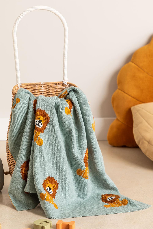 Meru Kids katoenen deken, galerij beeld 1
