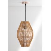 Khumo bamboe plafondlamp, miniatuur afbeelding 1