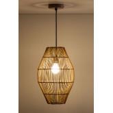 Khumo bamboe plafondlamp, miniatuur afbeelding 2