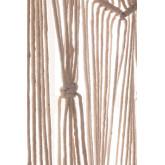 Macramé gordijn (215x110 cm) Zulema, miniatuur afbeelding 5