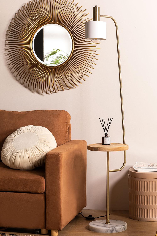 Vloerlamp met tafel Águeda, galerij beeld 1