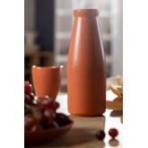 650 ml fles in Diav keramiek, miniatuur afbeelding 1