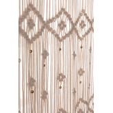 Macramé gordijn (215x110 cm) Luana, miniatuur afbeelding 3